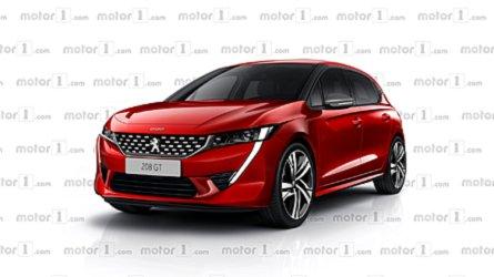 Projeção: Veja o Peugeot 208 2019 com a nova identidade visual da marca