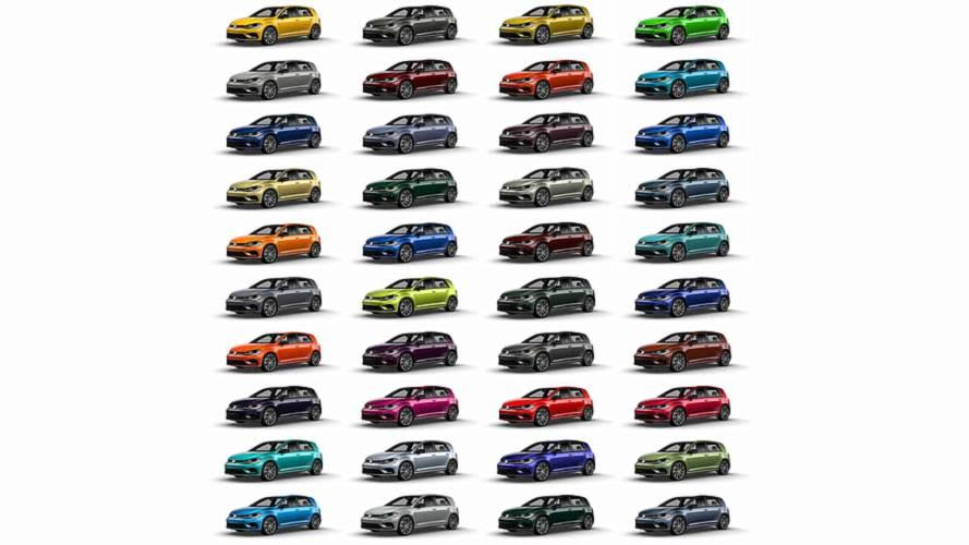 2019 VW Golf R Color Spektrum Program