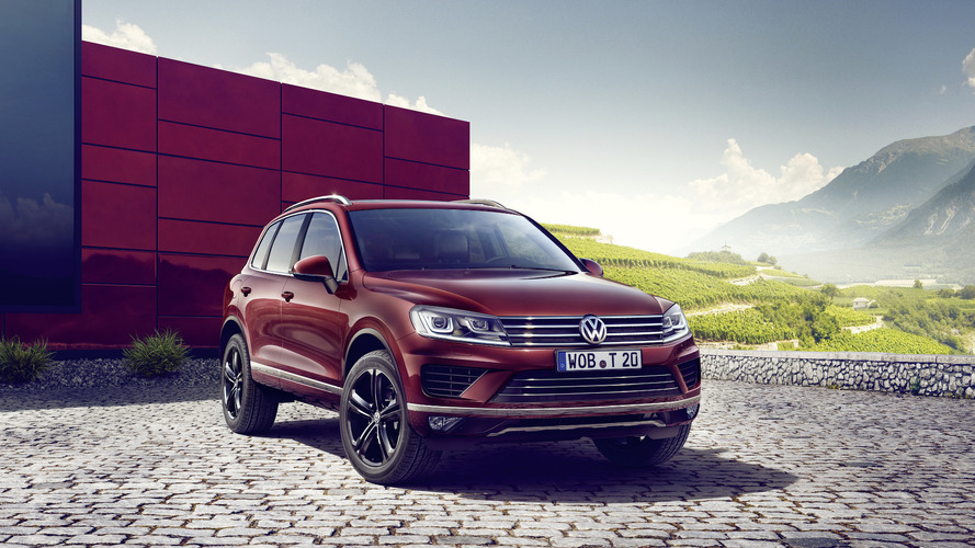 VW Touareg Executive Edition announced with exclusive features