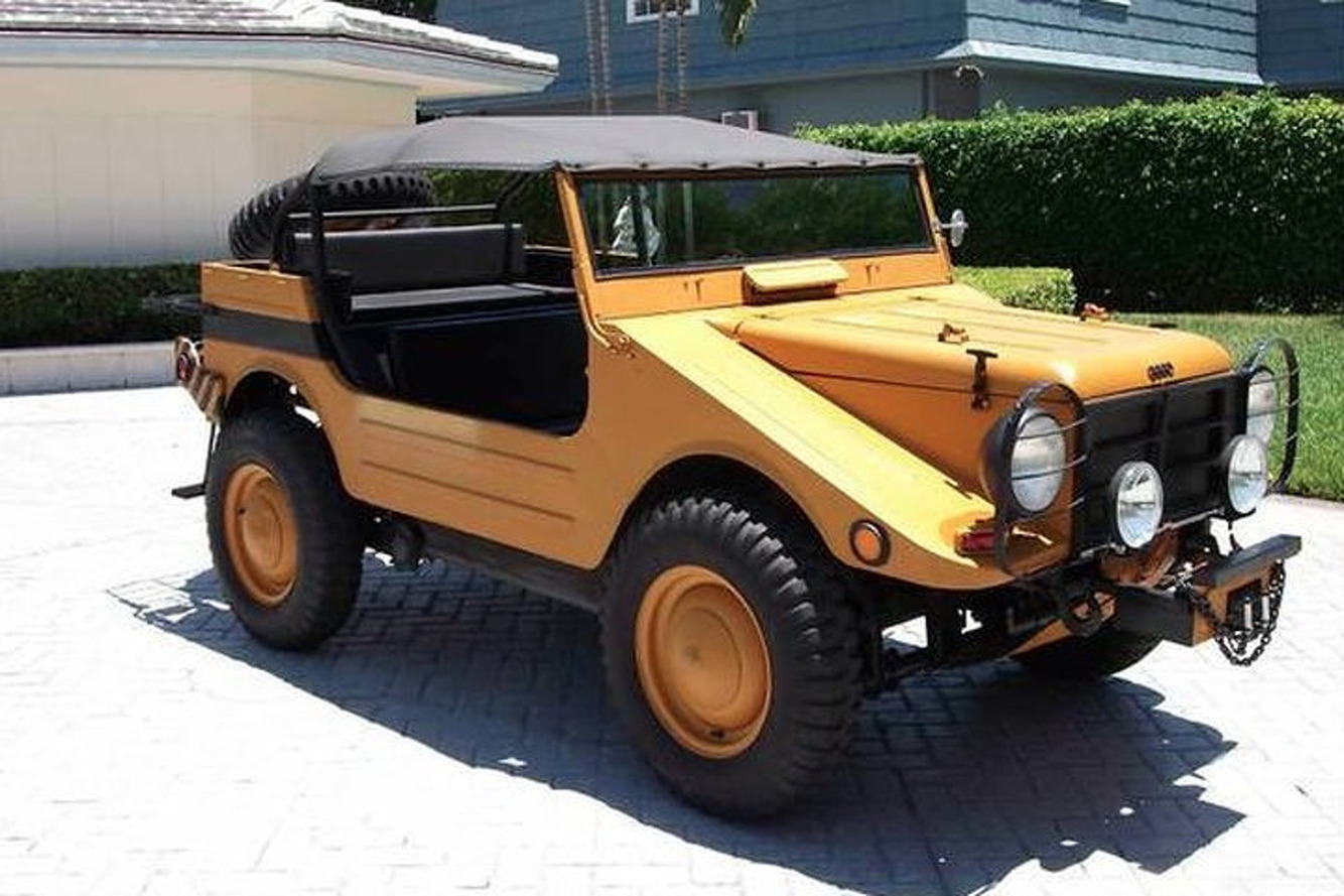 Buy This Ultra-Rare Cold War-Era German Military Vehicle...in New Jersey?