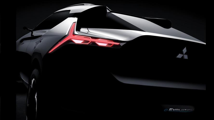 Mitsubishi e-Evolution konsepti gösterildi
