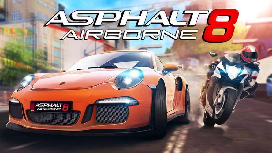 Llegan las motos al popular videojuego Asphalt 8: Airborne