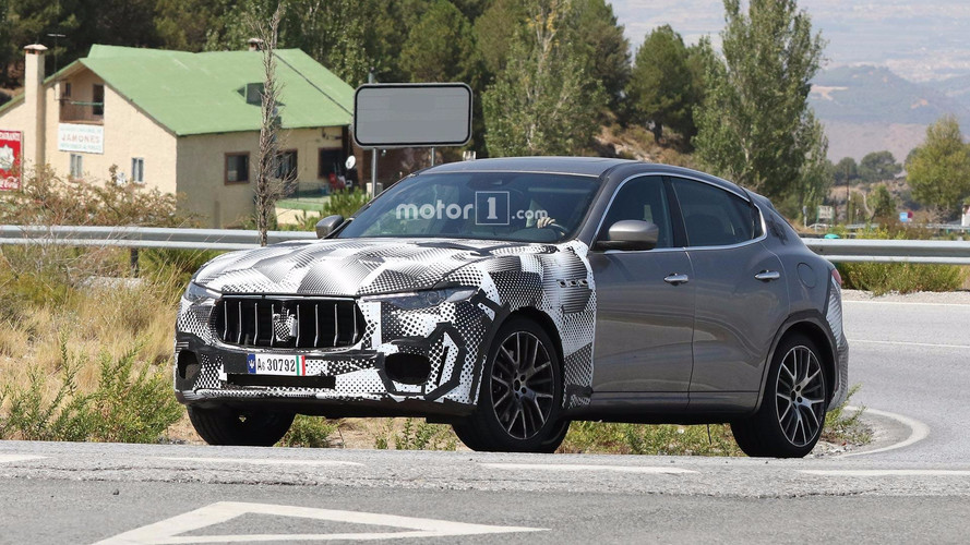 Maserati Spied Testing Levante GTS, Possibly With Biturbo V8