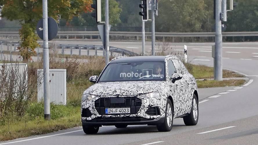 2018 Audi Q3 yeni casus fotolar