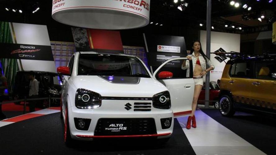 Suzuki Alto Turbo RS concept premieres at Tokyo Auto Salon