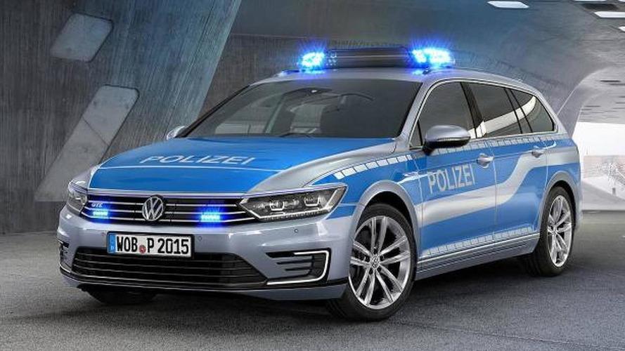 German Police Gets A Hybrid Volkswagen Pat Gte