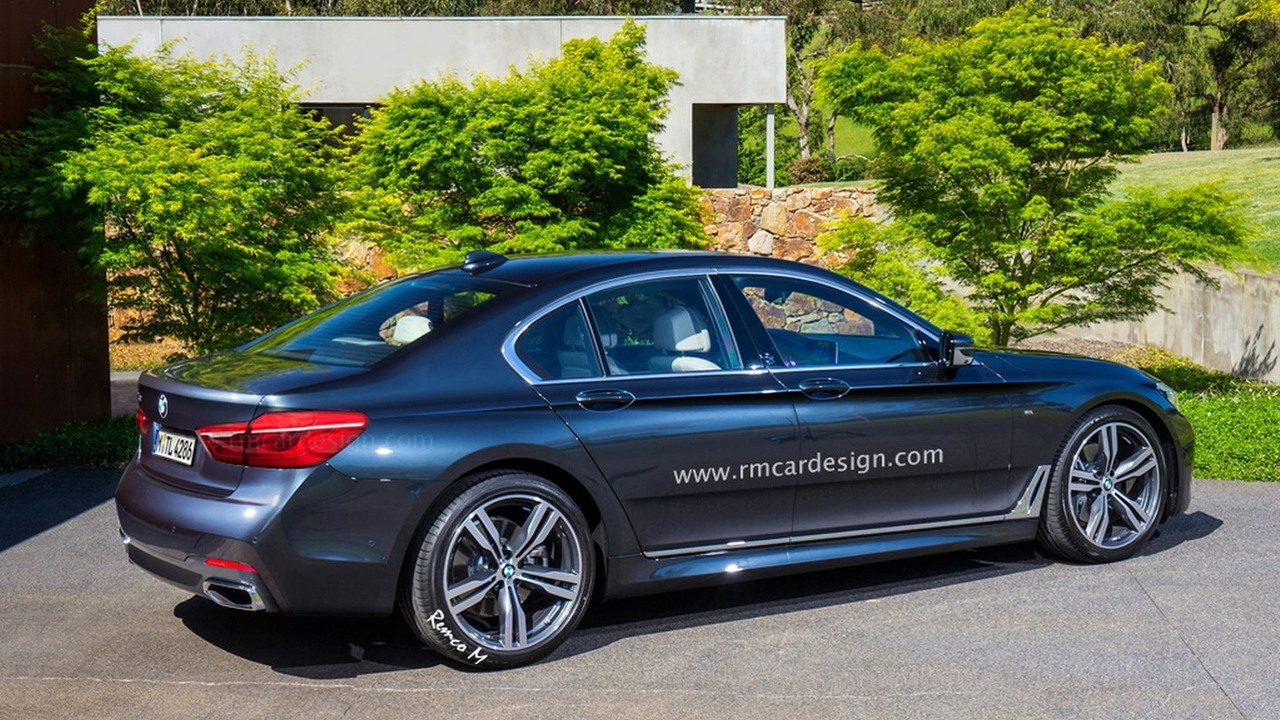 2016 BMW 5-Series Sedan render