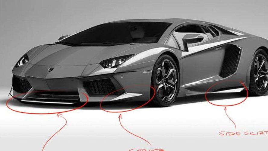 DMC Gargiulo previewed - based on the Lamborghini Aventador LP700-4
