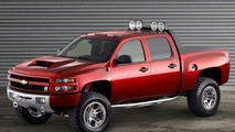 Dale Earnhardt Jr.'s Big Red Silverado