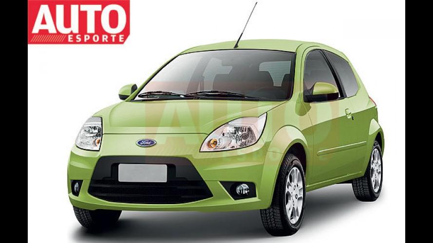 Revista Auto Esporte divulga projeção do Ford Ka 2012
