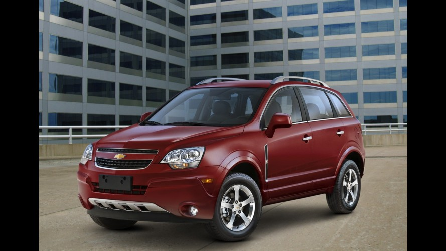 Chevrolet anuncia recall de mais de 2 mil unidades do Captiva nos Estados Unidos