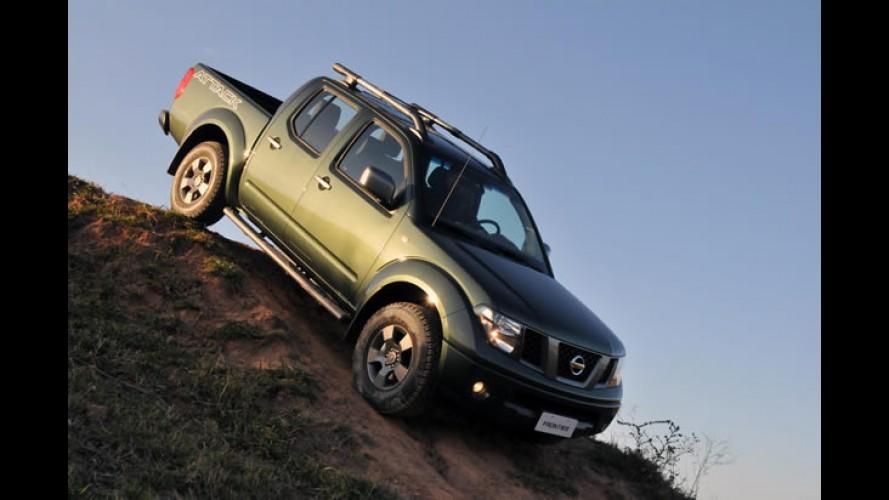 Nissan Frontier 2013 ficará R$ 5 mil mais cara e terá versões com até 190 cavalos