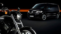 VW Multivan can Now Transport Harley-Davidson Motorcycles