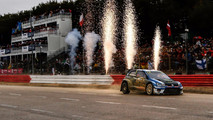Johan Kristoffersson Rallycross Loheac arrivee