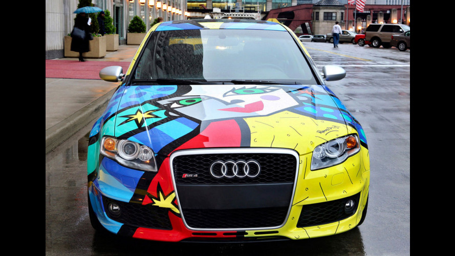 Audi RS4 by Romero Britto