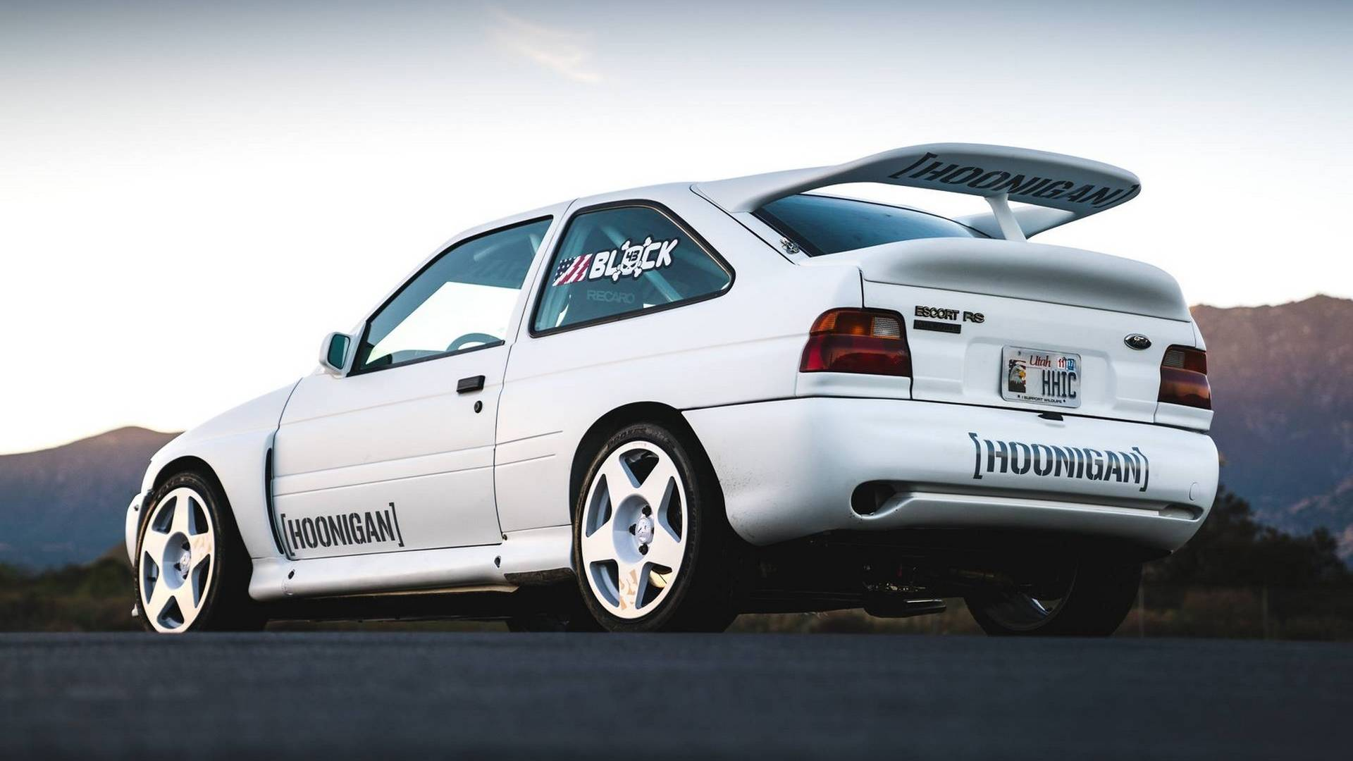 Ford Escort RS Cosworth Rally Car Is Ken Block\'s New WRC Toy