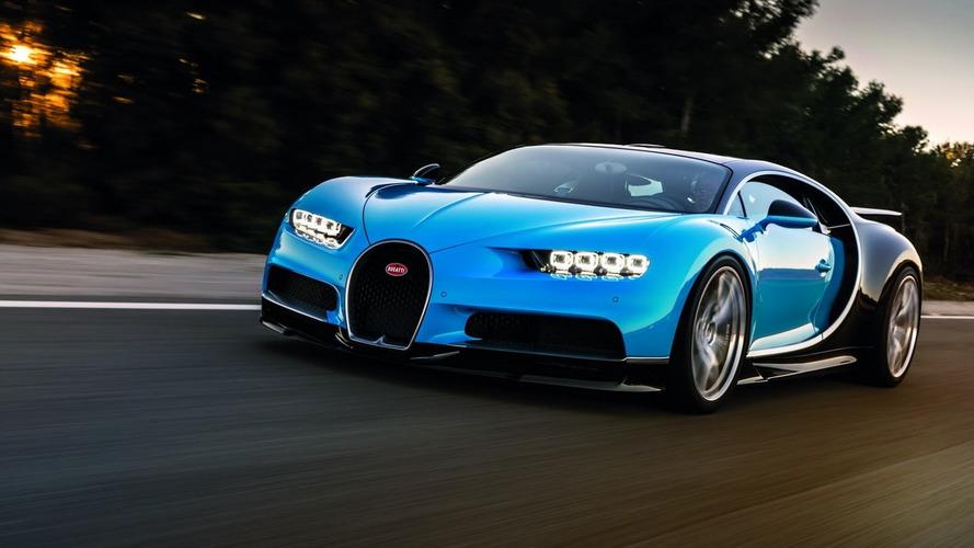 Bugatti Chiron  0-400-0 km/s hızlanmasını bir dakikanın altında yapabiliyor