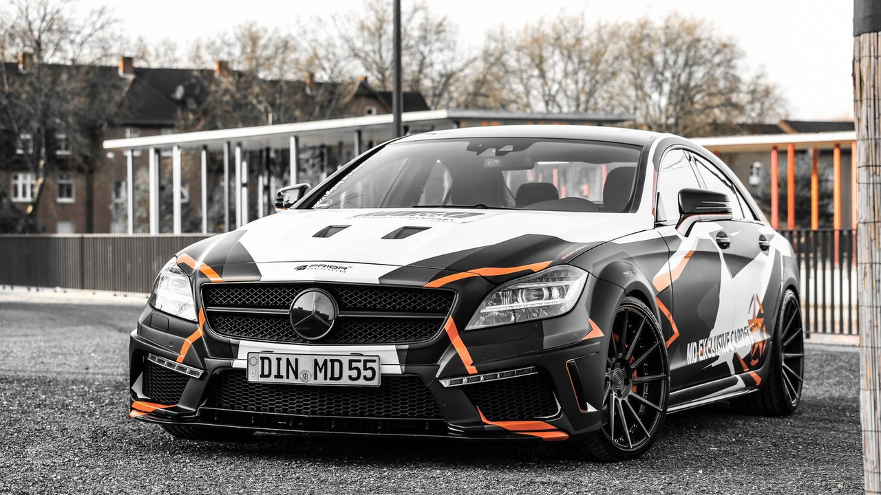 Mercedes CLS 500 by M&D exclusive cardesign
