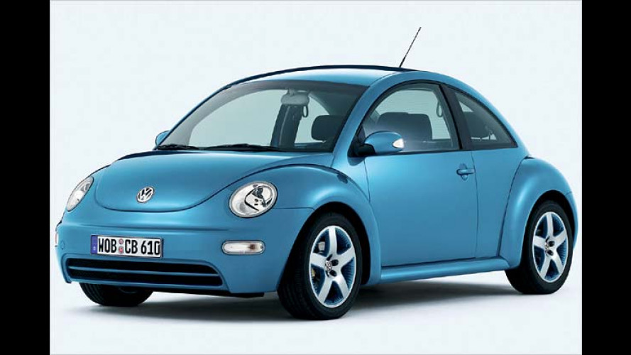 VW New Beetle Coastal: Sondermodell in strahlendem Blau