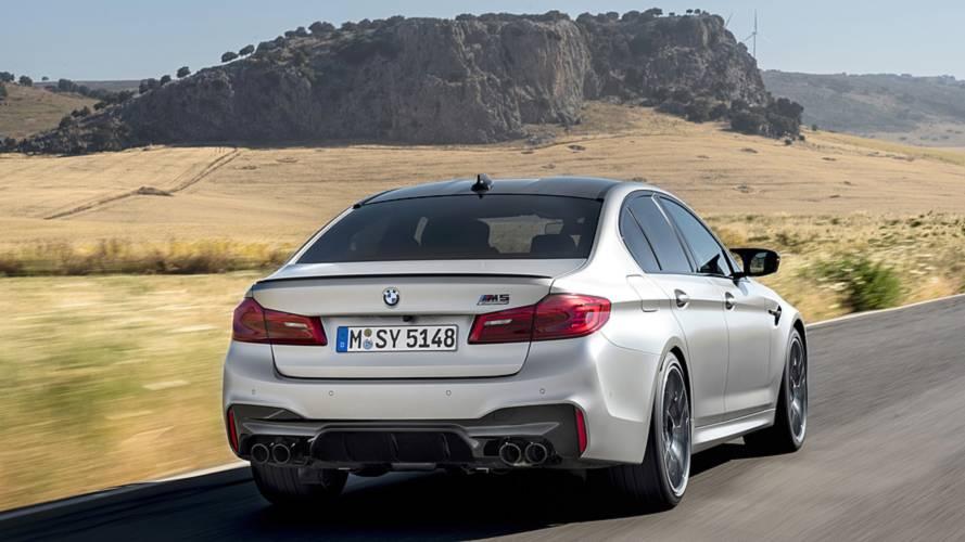 BMW M5 Competition 2018 primera prueba