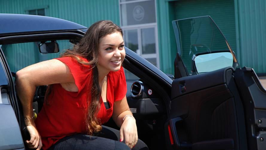 Elisa Artioli and the Lotus Elise