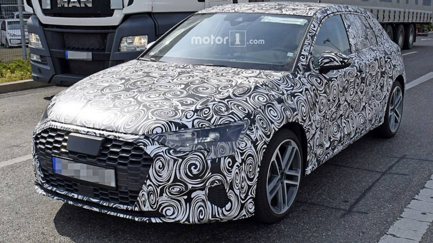 New Audi S3 Spied For The First Time [UPDATE: A3 Spotted]