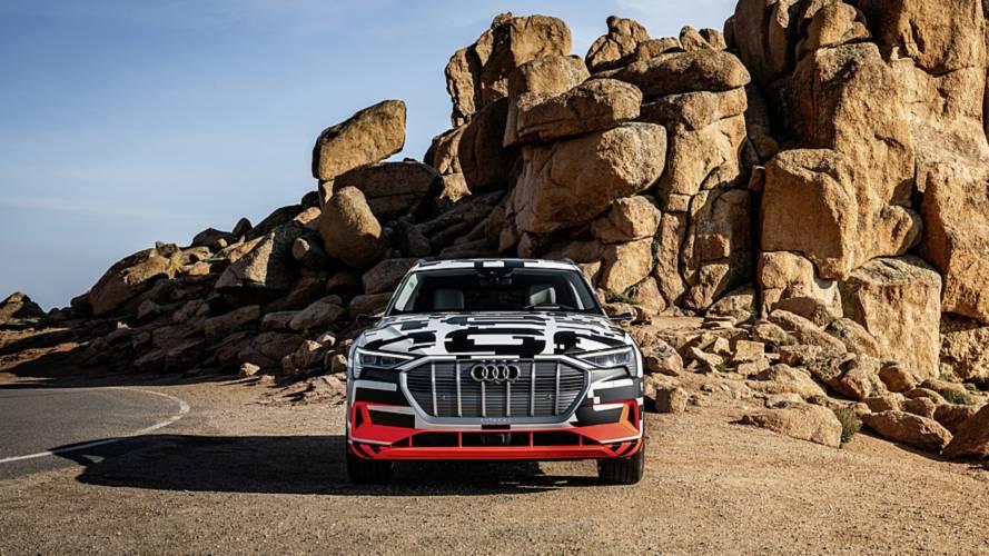 Audi e-tron 2019 eléctrico, en Pikes Peak