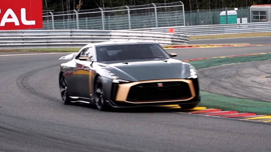 Watch Nissan GT-R50 Hit The Track For The First Time