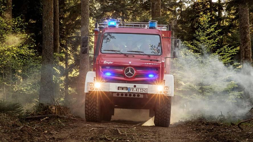 Mercedes-Benz Unimog Fire Truck