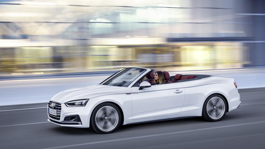 Nuova Audi A5 e S5 Cabriolet