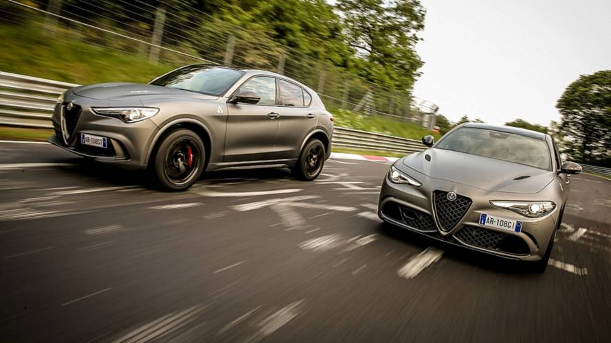 Alfa Romeo Giulia y Stelvio Quadrifoglio NRING 2018: en honor al 'Ring'