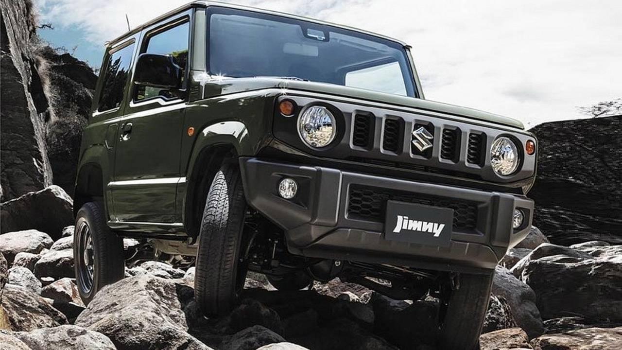 Suzuki Jimny 2018: fotos oficiales