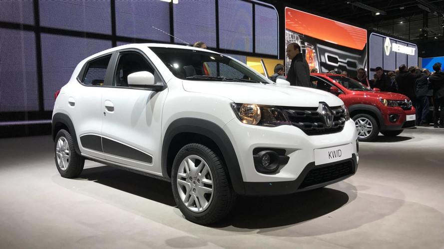 Renault Kwid chega com preços entre R$ 29.990 e R$ 39.990