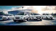 Hyundai i10, i20, i30 e ix35 Limited Edition Go! Brasil