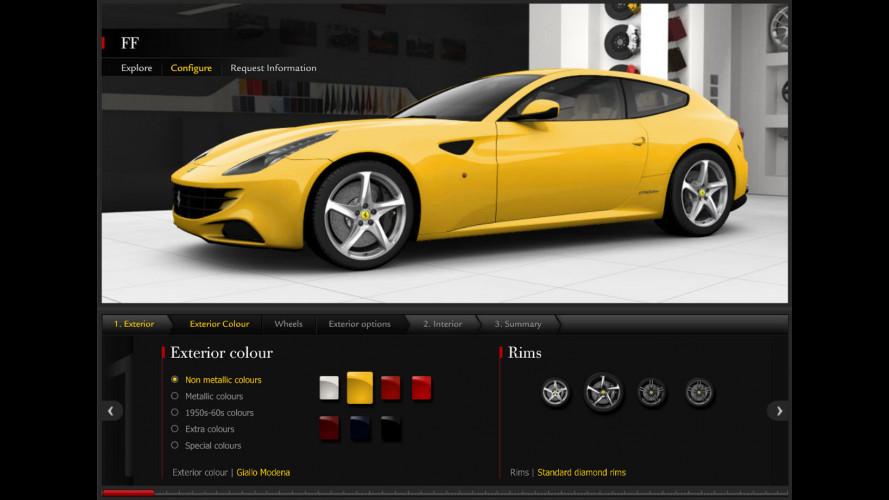 Di che colore comprereste una Ferrari?
