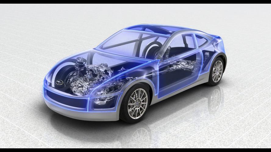 Subaru BRZ, la