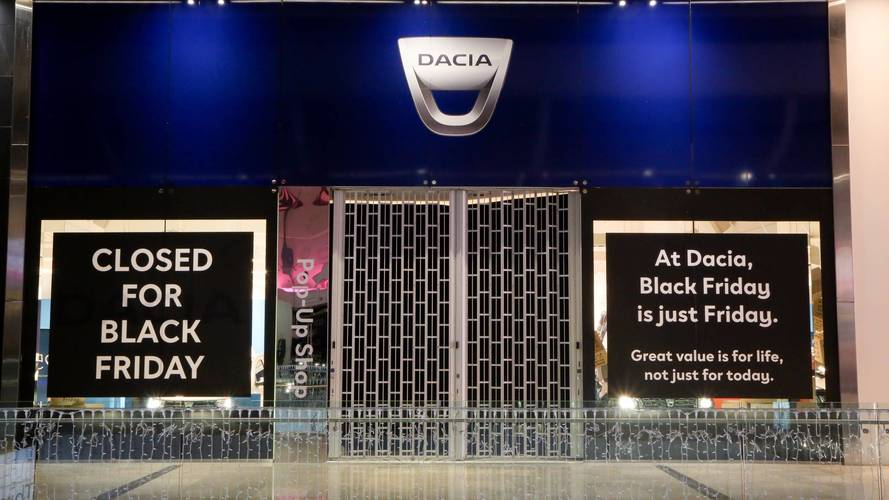 Dacia a boycotté le Black Friday