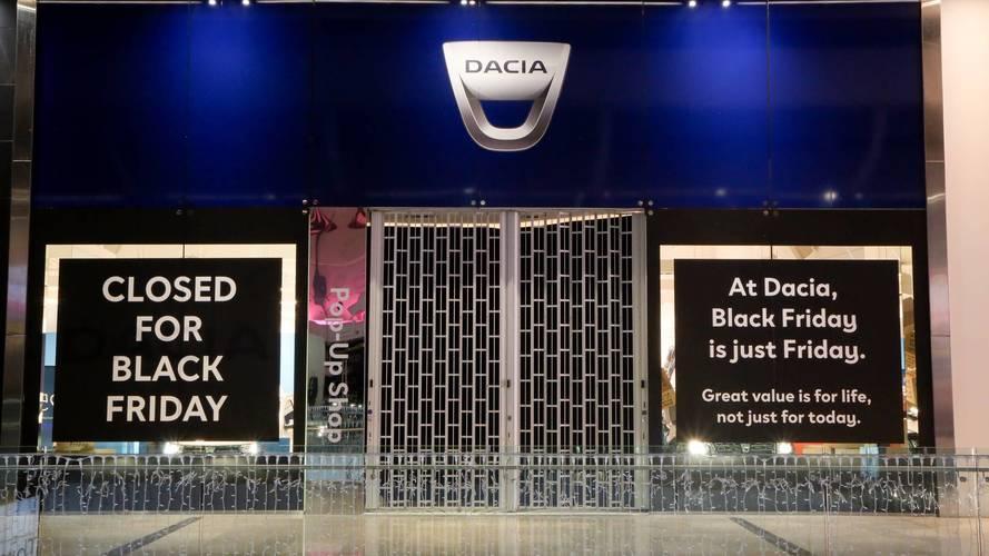 Dacia a boycotté le Black Friday