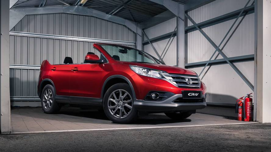 Honda reveals new CR-V roadster