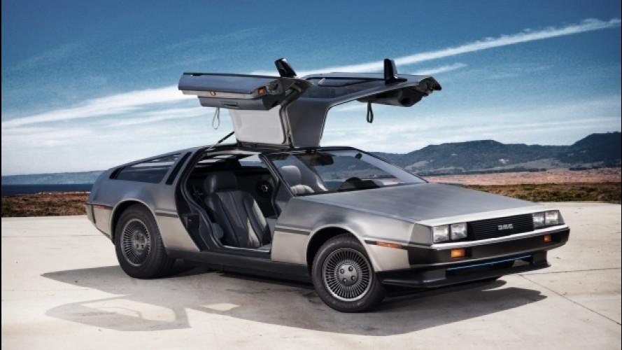 """DeLorean di """"Ritorno al futuro"""", quante multe!"""