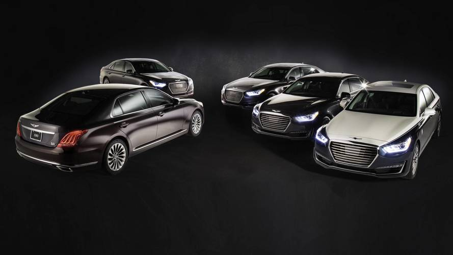 Genesis G90 Gets 5 Special Versions Just In Time For The Oscars