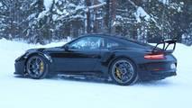 Porsche 911 GT3 RS 2018: fotos espía sin camuflaje