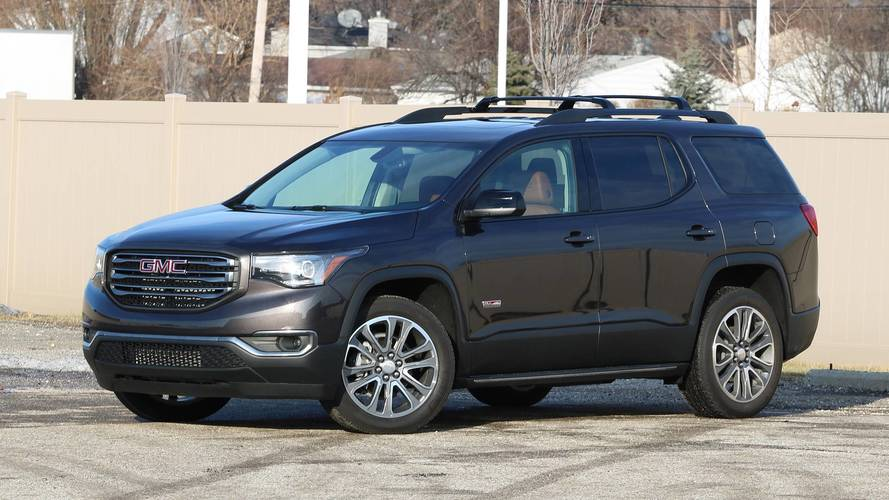2018 gmc acadia all terrain review photos. Black Bedroom Furniture Sets. Home Design Ideas