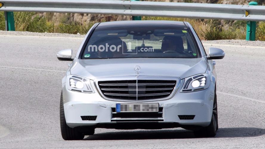 Photos espion Mercedes-AMG S 63 et Mercedes Classe S restylées 2017