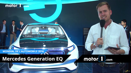 VIDÉO - Découvrez le concept Mercedes Generation EQ au Mondial de Paris !