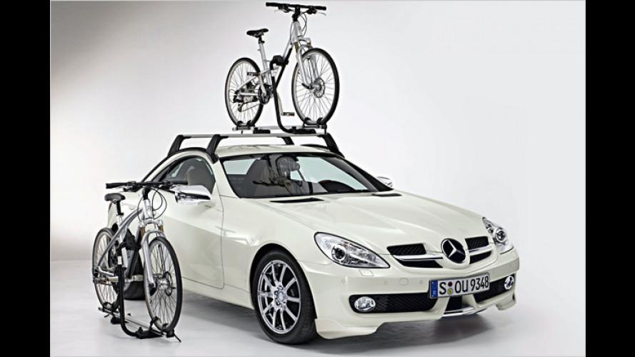 Zubehör: Mehr Individualität für den neuen Mercedes SLK