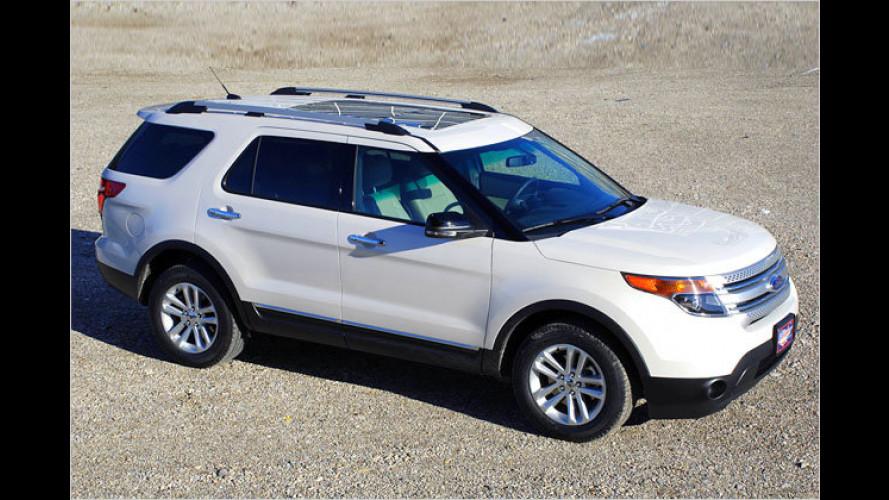 Fünf-Meter-SUV: Neuer Ford Explorer auch bei uns zu haben
