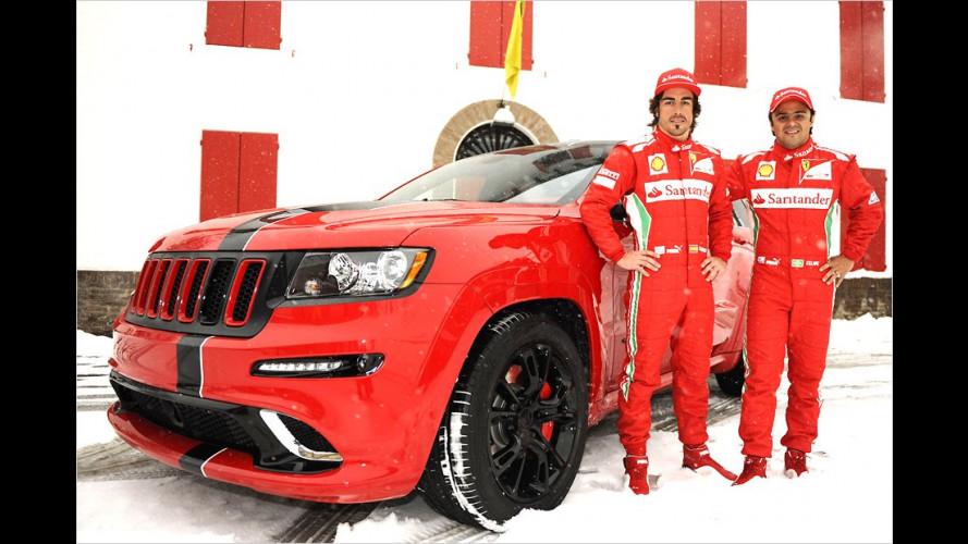 Renn-SUV im Ferrari-Style