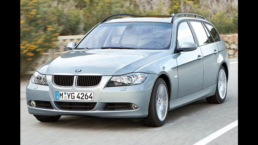 Schnell-Kombinierer: BMW bringt im Herbst den 3er Touring