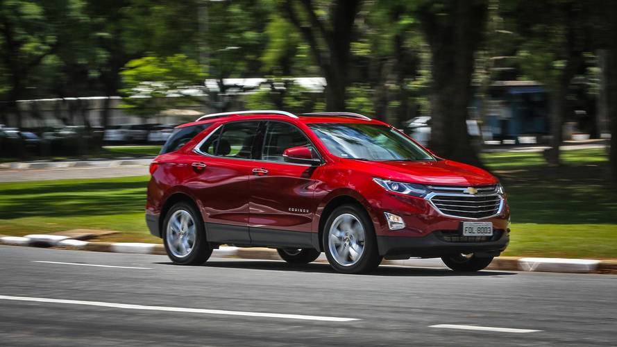 SUVs médios mais vendidos - Equinox estreia no pódio da categoria